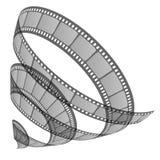 Film roll. Vector illustration of film roll Stock Photo