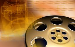 Film roller Stock Images