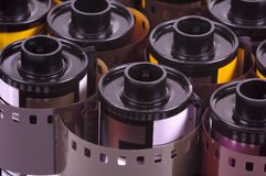 Film Rolls Image stock