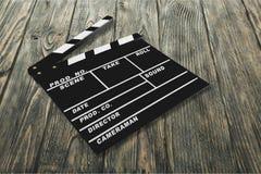 Film Schiefer Stockfotografie
