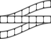 Film shape Stock Image