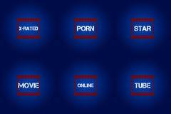 Film sklasyfikowana ikona i zdobywać punkty ekranowych krytyków Zdjęcie Stock