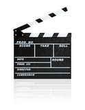 Film Slate Stock Image