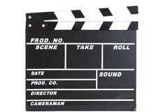 Film Slate Royalty Free Stock Photos