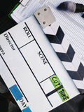 Film Slate background Royalty Free Stock Photo