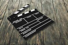 Film Slate. Director Movie Slate Non-Urban Scene Urban Scene Calendar Date Stock Photography