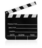 Film Slate Icon Stock Photos