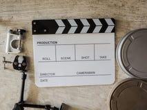 Film slate movie tool Royalty Free Stock Photo
