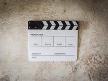 Film slate movie tool Stock Images