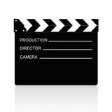 Film slate Royalty Free Stock Photography