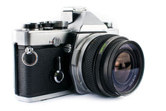 Film SLR Camera Royalty Free Stock Image