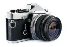 Film SLR Camera. Vitage 35mm Film SLR Camera Royalty Free Stock Image
