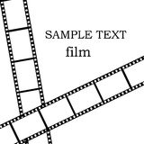 film som isoleras över white royaltyfria bilder