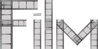 Film spell Stock Image