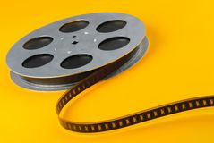 Film spools Royalty Free Stock Photography