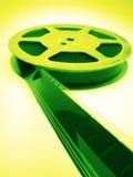 Film spools Stock Image