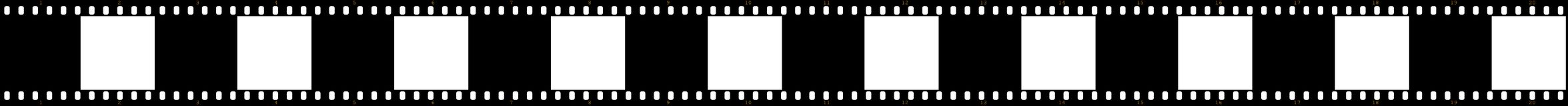 Film stock. Illustration of a film with a sequence of frames Royalty Free Stock Photo