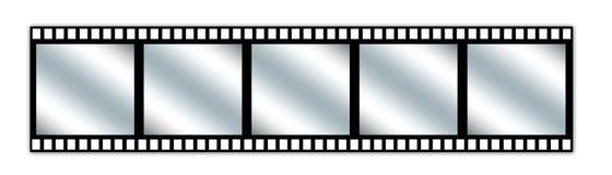Film-streep Royalty-vrije Stock Afbeeldingen