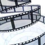 Film-Streifen Stockfotos