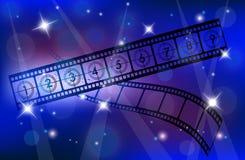 Film-Streifen Lizenzfreies Stockfoto
