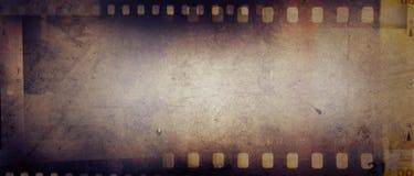 Film streift Hintergrund ab Stockbild