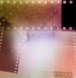 Film streift Hintergrund ab Lizenzfreie Stockfotografie