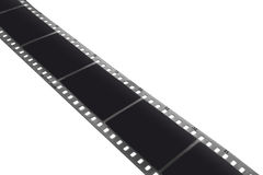 Film strip. 35 mm black and white film strip Royalty Free Stock Photos