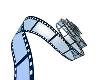 Film Strip. Royalty Free Stock Images