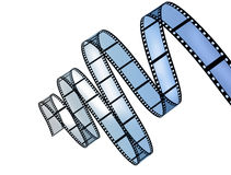 Film Strip. Stock Image