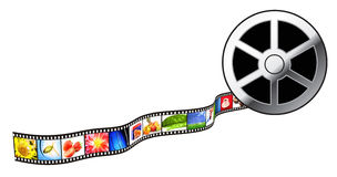 Film Strip. Royalty Free Stock Photos