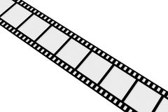 Film Strip. 3D Illustration. Isolated on white Royalty Free Stock Images