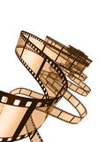 Film Strip. 3d illustration on white background Royalty Free Stock Images