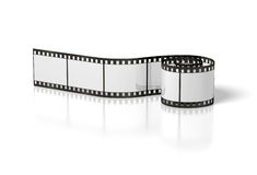 Film strip. On the white background Stock Photo