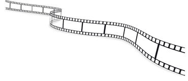 Film strip. An empty vector film strip Stock Photography