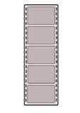 Film strip. Vector graphics illustration. Film strip Royalty Free Stock Photos