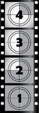Film strip. Design element Stock Photo