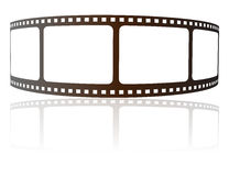 Film strip. Illustration on white background Royalty Free Stock Photo