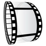 Film strip. Illustration on white background Royalty Free Stock Images