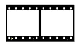 Film strip.  Stock Photography