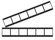 Film strip.  Stock Photos
