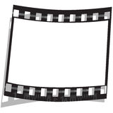Film strip. On a white background Royalty Free Stock Photos