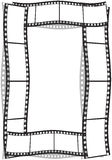 Film strip. On a white background Stock Photos