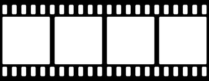 Film strip. Simple image filmstrip. Seamless repeat image Royalty Free Stock Image