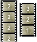 Film strip. Illustration of film strip. Film symbol Royalty Free Stock Photos