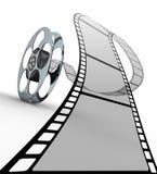 Film strip. On white background Stock Photos