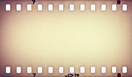 Film strip. Old grunge film strip background Royalty Free Stock Image