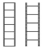 Film strip. Simple illustration of film strip on white background Stock Images