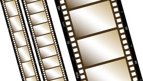 Film Strip. Old Film strip illustration. EPS version available Stock Photo