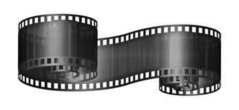 Film Strip. Digital illustration of a segment of film strip Stock Photo