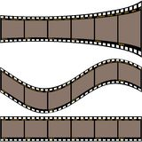 Film strip A Stock Photos